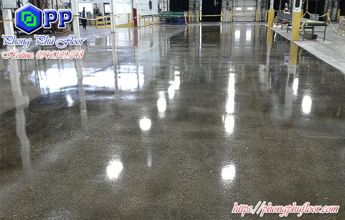 Đánh bóng sàn bê tông huế
