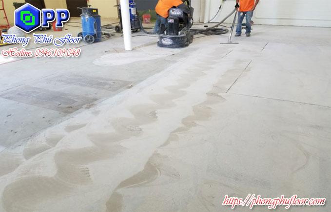 Dịch vụ mài sàn bê tông công nghiệp