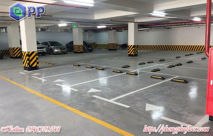 Dịch vụ thi công sơn sàn tầng hầm