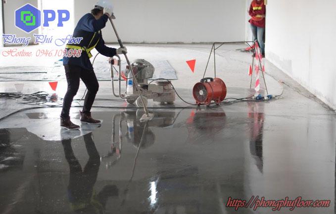 Mài đánh bóng sàn bê tông