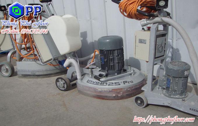 Máy mài sàn bê tông đóng vai trò quan trọng không thể thiếu trong các công trình hiện nay