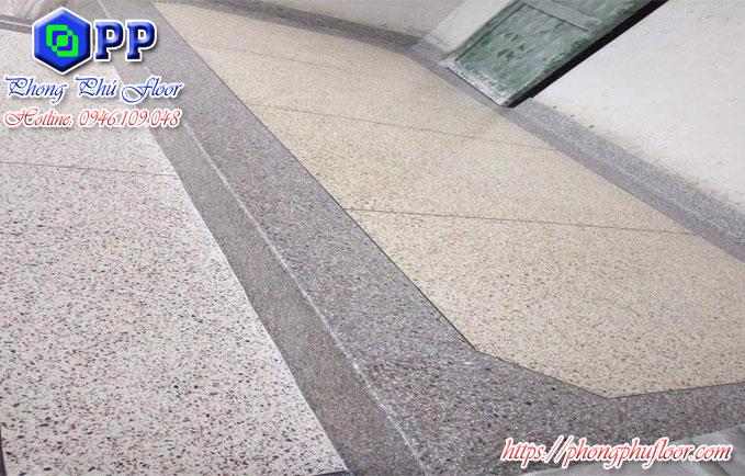 Quy trình thi công bê tông mài granito