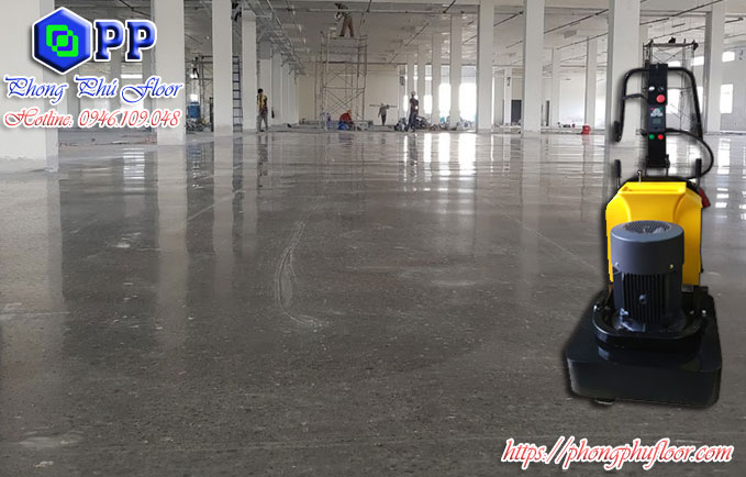 Sàn bê tông mài mang lại nhiều lợi ích hơn so với bề mặt sàn bê tông thông thường