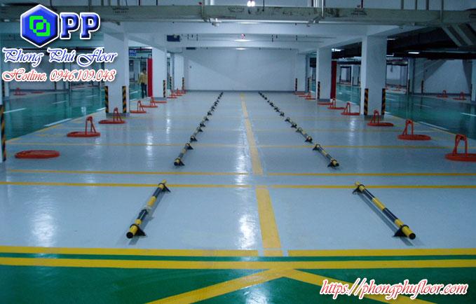 Sơn epoxy cho sàn tâng hầm mang lại nhiều chức năng bảo vệ sàn và nhiều lợi ích khác