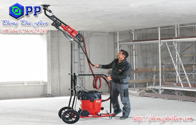 Sử dụng dịch vụ mài trần bê tông sẽ mang lại nhiều lợi ích trần nhà