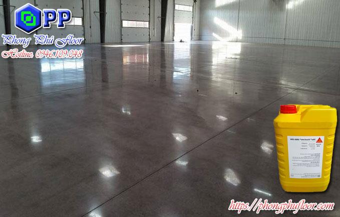 Sử dụng phụ gia giúp bề mặt sàn bê tông được cải thiện và làm giảm chi phí xuống mức tôi đa