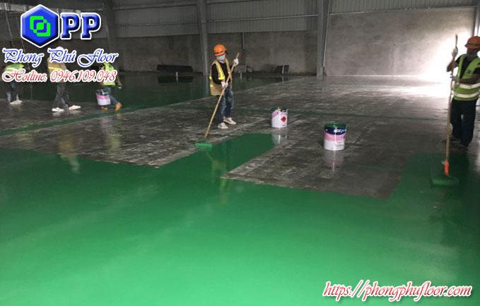 Sàn epoxy mang lại nhiều lợi ích trong việc bảo vệ sàn