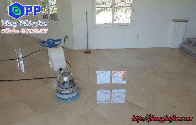 Đánh bóng sàn tại hà nội giá rẻ