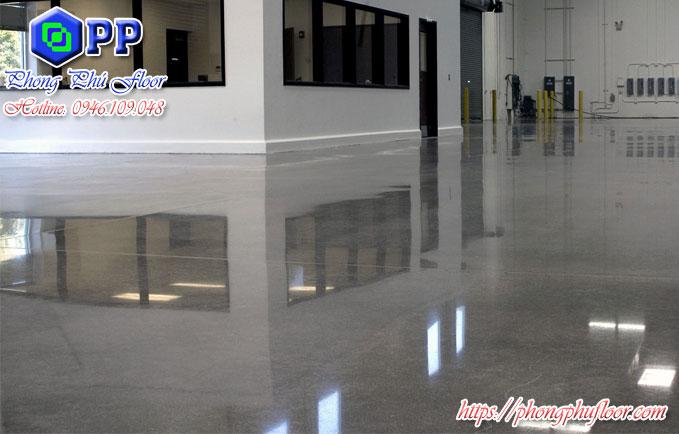 Dịch vụ đánh bóng sàn bê tông giá rẻ siêu bóng