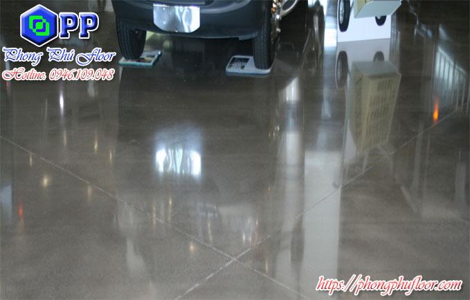 Dịch vụ đánh bóng sàn bê tông tại Hà Nội