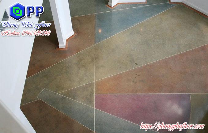 Sàn bê tông mài có rất nhiều màu sắc khác nhau cho bạn lựa chọn mà?