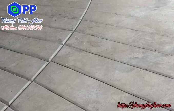Phong phú floor nhận thi công mọi công trình cắt tạo rãnh ramp cho dốc tầng hầm theo yêu cầu