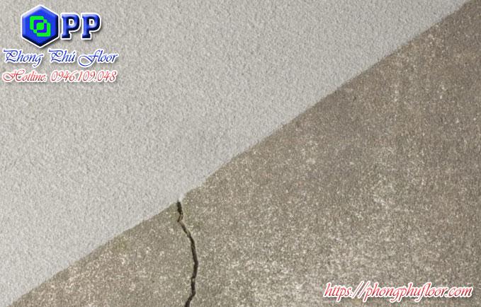 Thi công phục hồi nứt nẻ, hư hỏng trên nền sơn epoxy giá rẻ