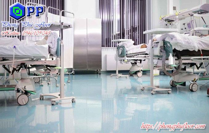 Nhận sơn sàn epoxy tại bệnh viện với mọi diện tích lớn nhỏ giá bình dân