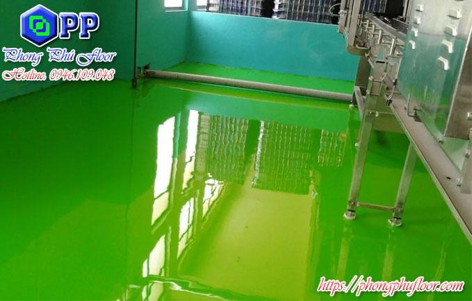 Nhận thi công sơn epoxy tự phẳng trên bề mặt với giá rẻ