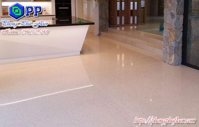 Ưu điểm và lợi ích của sàn bê tông mài bóng